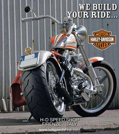 Harley Davidson Speed Shop Firenze Italy - Rentals & Harley Goodies