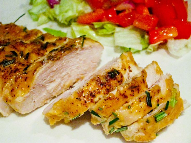 This is one of my favorite chicken recipe and it is perfect when you have barely time to cook but want to spoil your tastebuds. Here dijon and marple syrup do magic. The chicken comes out so soft a…