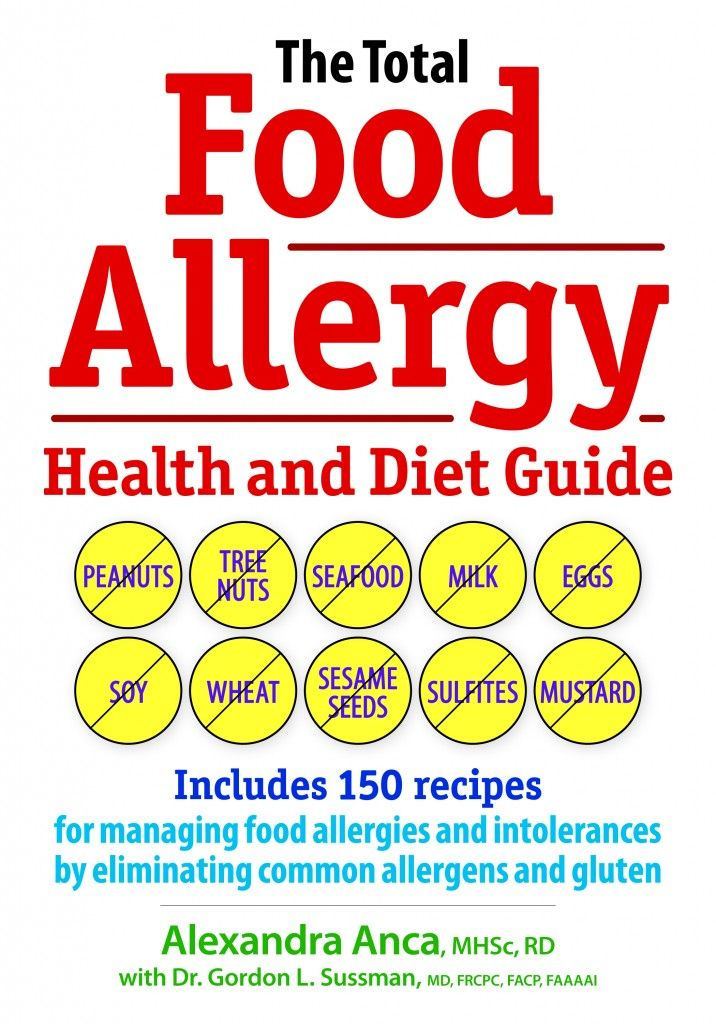 Food allergy book!  Its like a food allergy bible!