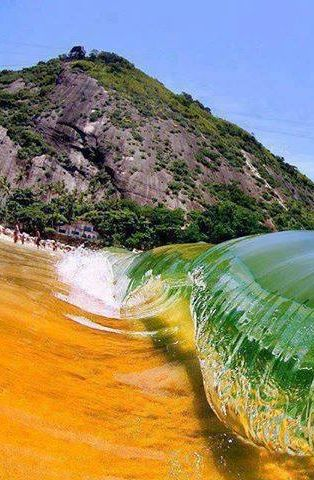 Red Beach, Rio De Janeiro, Brazil , from IrynaWater Wonderland, Red Beach, Rio De Janeiro, Shinee Sea, Peacefull Places, Brazil Www Kanootravel Co Uk, Scenery Travel