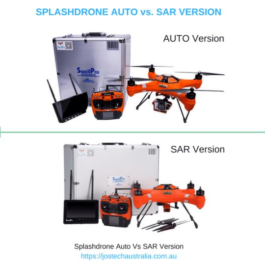 SPLASHDRONE SAR vs AUTO FEATURES | Which to Buy?