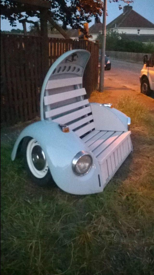 Beetle bench