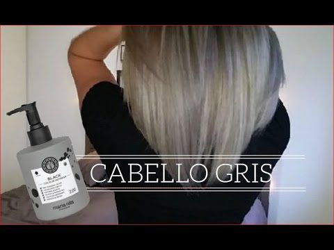 DIY Cabello gris sin tinte | how to get grey hair tutorial (English subtitles) - YouTube