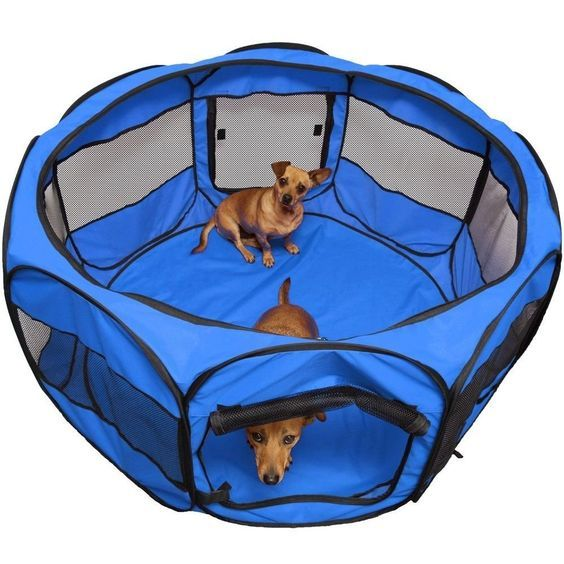 Tent Portable Pet OxGord 45' Dog Cat Playpen Exercise Fence Kennel Cage Crate *** Don't get left behind, see this great dog product : Dog cages