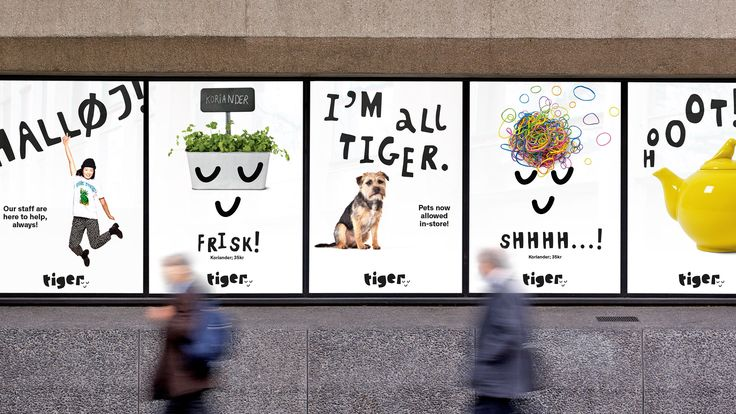 Flying Tiger Copenhagen - Saffron Brand Consultants