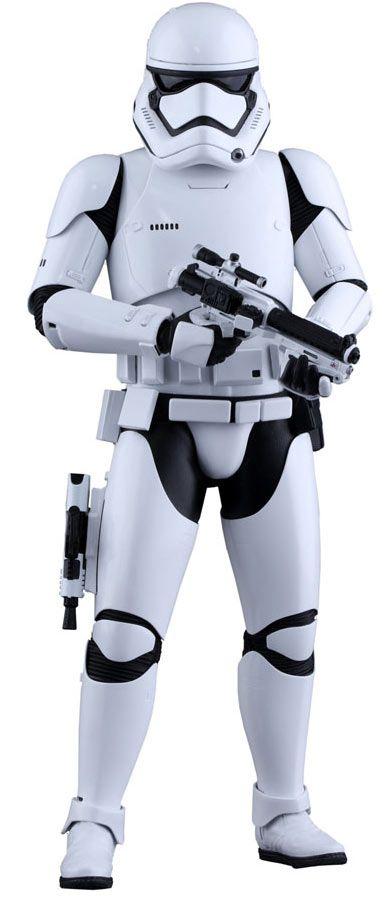 Figura soldado Stormtrooper con pistola 30 cm. Star Wars Episodio VII. Línea Movie Masterpiece. Escala 1:6. Hot Toys Estupenda figura del conocido soldado imperial Stormtrooper de 30 cm, totalmente articulada a escala 1:6, fabricada en material de PVC, con accesorios y 100% oficial y licenciada. Una pieza imprescindible en tu colección de merchandising de la saga de Star Wars.