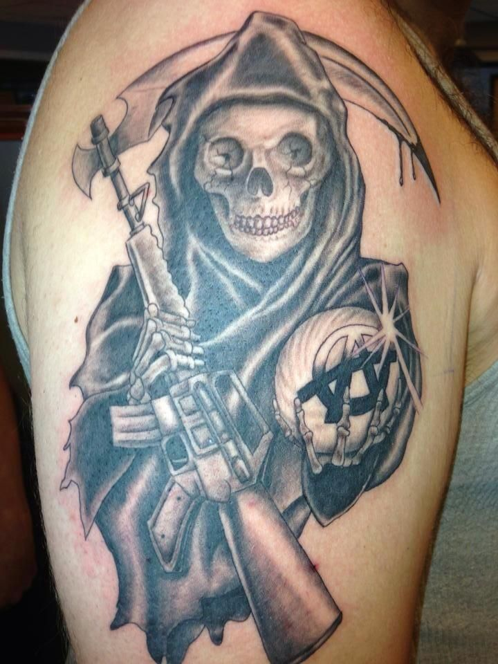 25 best ideas about sons of anarchy tattoos on pinterest for Sons of anarchy tattoos