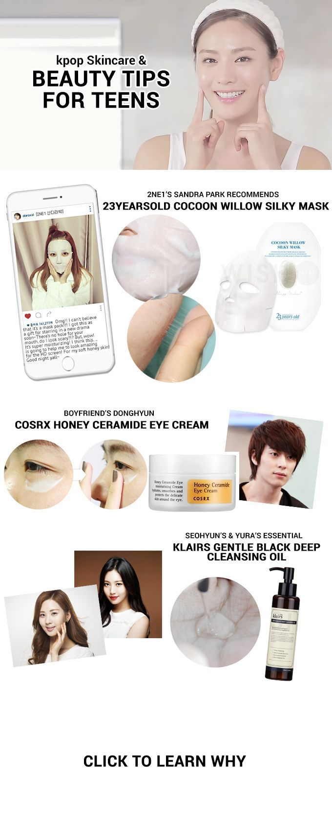 Beauty Tips For Teens Introducing Kpop Idol Skincare Essentials Http Www Wishtrend Com Glam Kpop Sk Beauty Tips For Teens Skin Care Skin Care Essentials