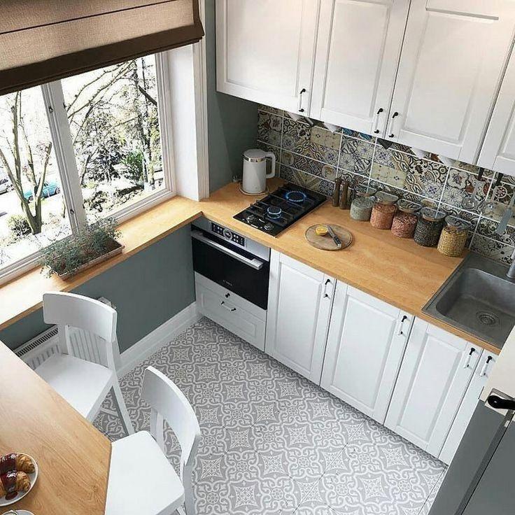 44 meilleures idées de conception de petite cuisine pour votre espace minuscule