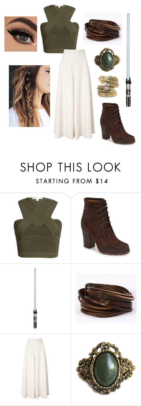"""""""Rey Lars Light Side Jedi Outfit"""" by free-byrd ❤ liked on Polyvore featuring Jonathan Simkhai, Frye, Temperley London, Natalie B, women's clothing, women's fashion, women, female, woman and misses"""