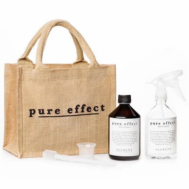 Pure Effect Miljövänliga städprodukter med mikrobiologi istället för kemikalier