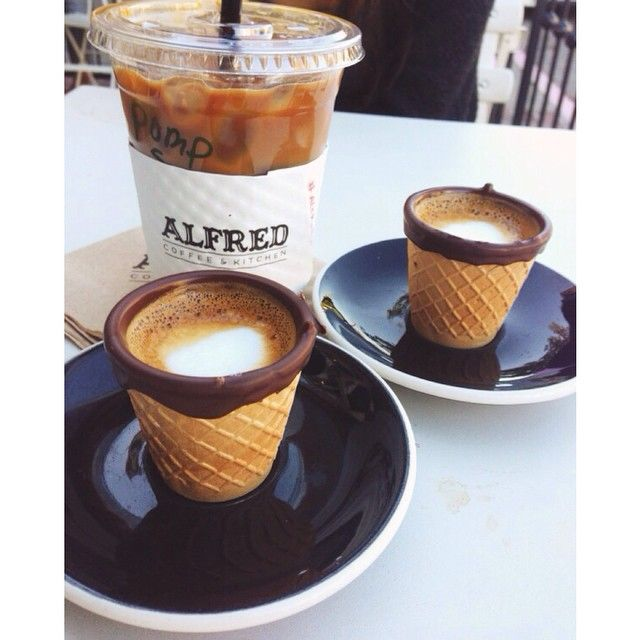 Alfred Coffee & Kitchen: 8428 Melrose Place, Los Angeles, Suite A.