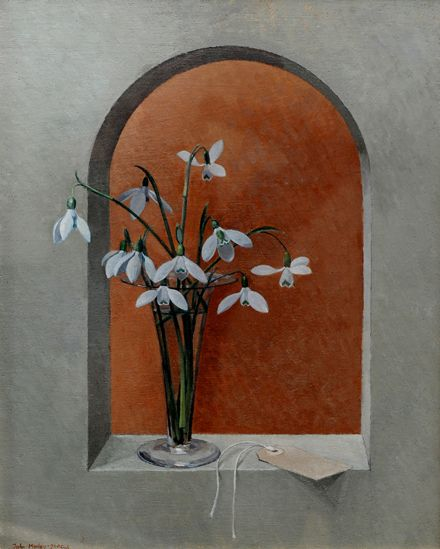 Snowdrops in a Glass by John Morley
