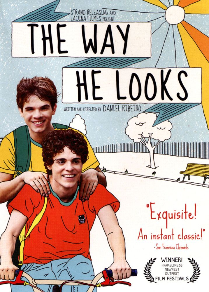 The Way He Looks Dvd 2014 The Way He Looks Good Movies Perks Of Being A Wallflower