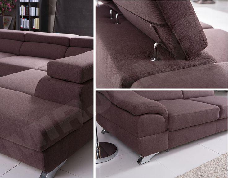 Super okazja! Narożnik rozkładany Matiz wyróżnia się kilkustopniową regulacją zagłówków oraz miękkim siedziskiem, przez co dostosujemy narożnik do siebie. Ulgę plecom przyniesie specjalnie wyprofilowane oparcie dla dolnej części kręgosłupa. #narożnik #salon #sofa #kanapa #mirjan24 #sale #corenersofa #home