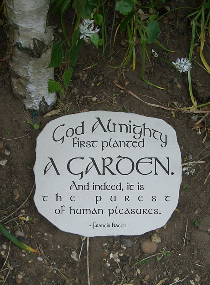 Inspirational garden quotes quotesgram for Garden stones with sayings