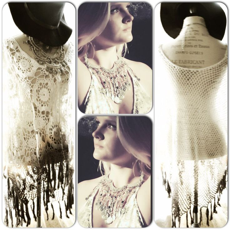 Coachella ponchos and necklaces ~ all at true rebel clothing ~