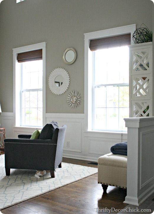 Displaying Diy Craftsman Window Trim By Rearranging The