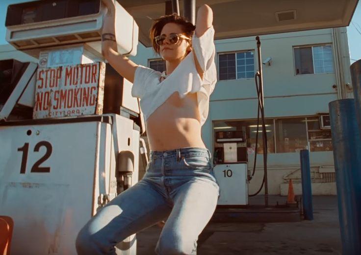 Behind The Wheel In The Rolling Stones | Kristen Stewart é estrela do novo clipe, Kristen Stewart teve um 2016, que sempre será lembrando com um dos melho