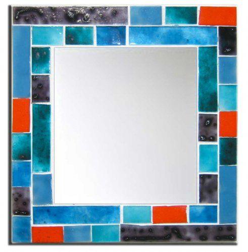 Espejos artesanales con vitrofusion espejos mirrors for Espejos artesanales