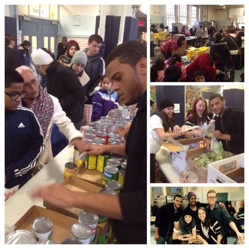 Thanks To Wonderful Starbucks Volunteers Who Worked At The Food Bank For New  York City Pop