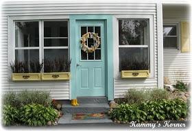 Kammy's Korner: My Outdoor Aqua Door