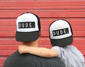 Mantenerlo Real Trucker Hat niños por heyyouapparel en Etsy
