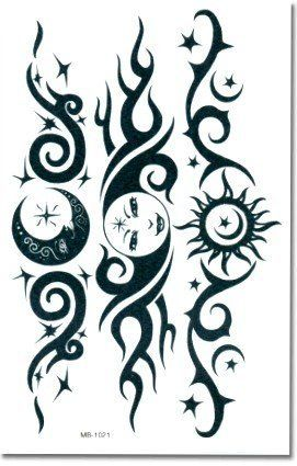 Tribal Sun Lower Back Temporary Tattoo: http://www.amazon.com/Tribal-Lower-Back-Temporary-Tattoo/dp/B001YIF3N6/?tag=greavidesto05-20