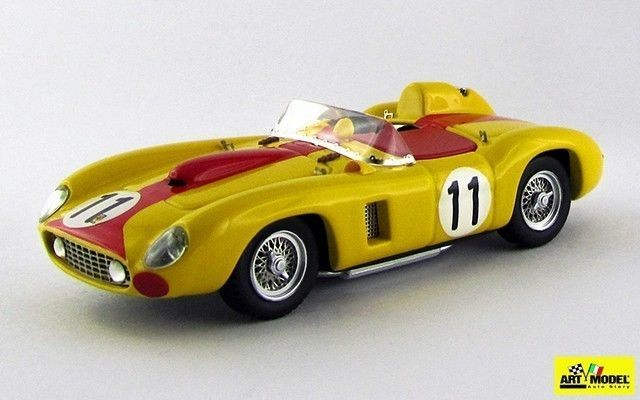 ART063-2 - FERRARI 290 MM - Le Mans 1957 - Svaters/Cangy .CAR MODELS, AUTOMODELL