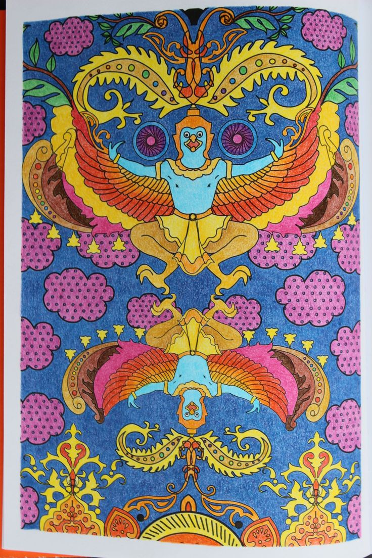 """Livre """"100 Mandalas anti stress"""" Hachette Crayons de couleurs divers"""