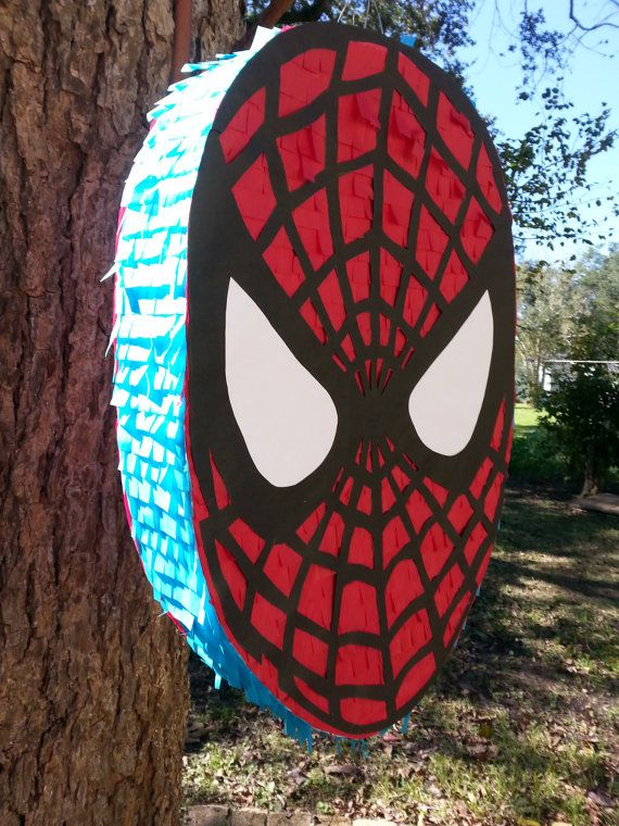 SPIDERMAN PINATA with personalized NAME - Visit to grab an amazing super hero shirt now on sale!