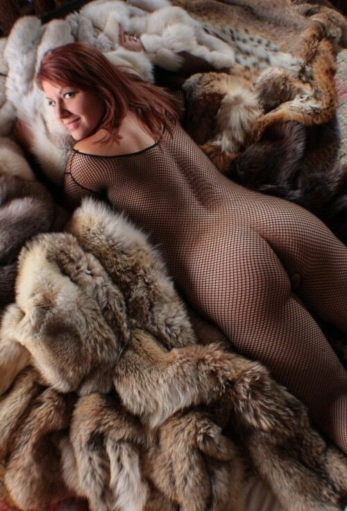 Sex on fur blanket #13