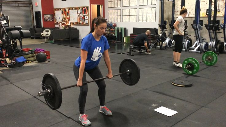 Breaking down the Olympic lifts for new CrossFitters.