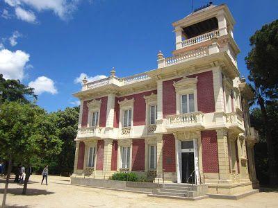 Can Tinturé museum in Esplugues de Llobregat