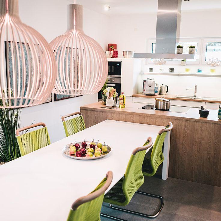 Die besten 25+ Grüne küchentapete Ideen auf Pinterest Grüner - wohnzimmer beige grun braun