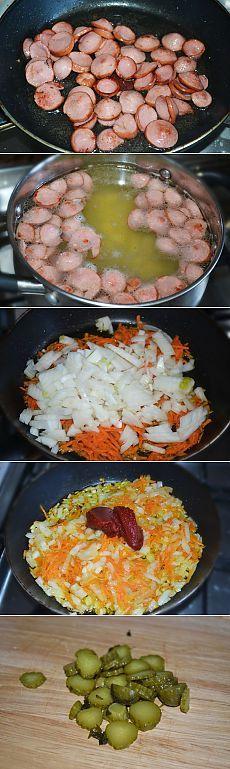 Как приготовить суп-солянка - рецепт, ингридиенты и фотографии