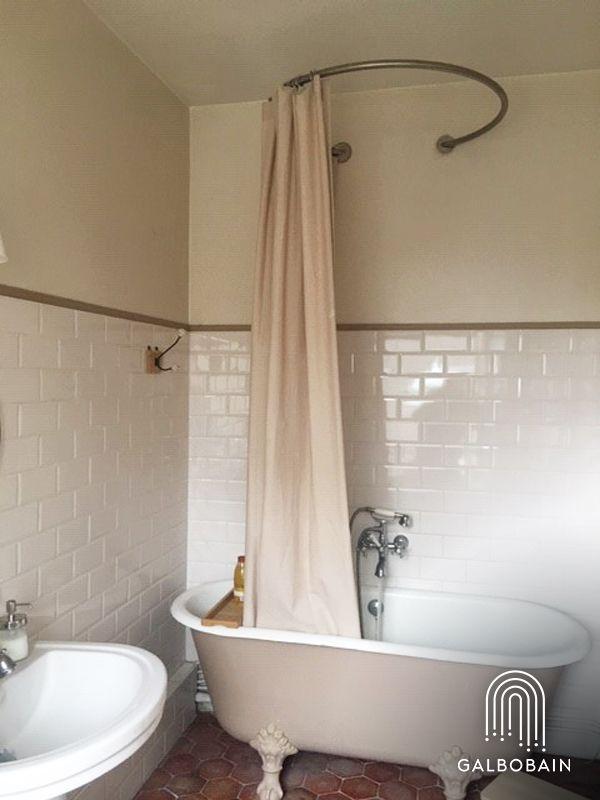 barres de rideaux de douche