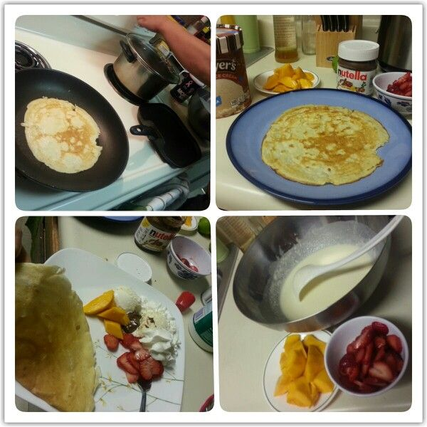how to make crepes with self raising flour