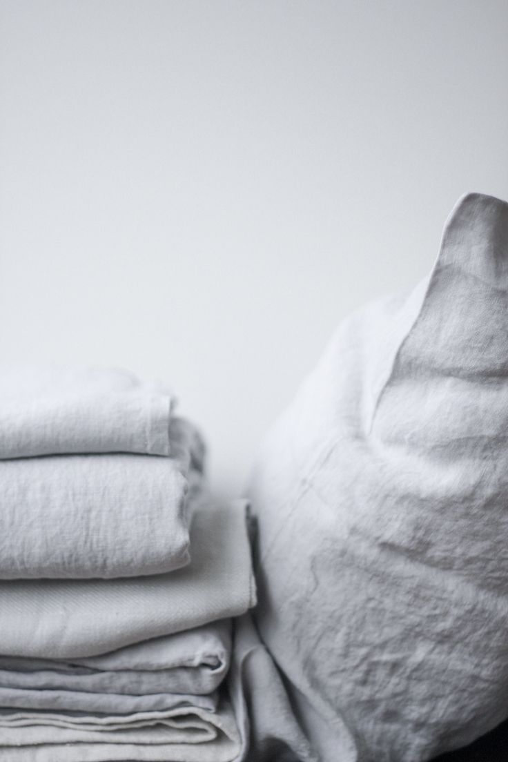 Linen Sheet Set in Mist