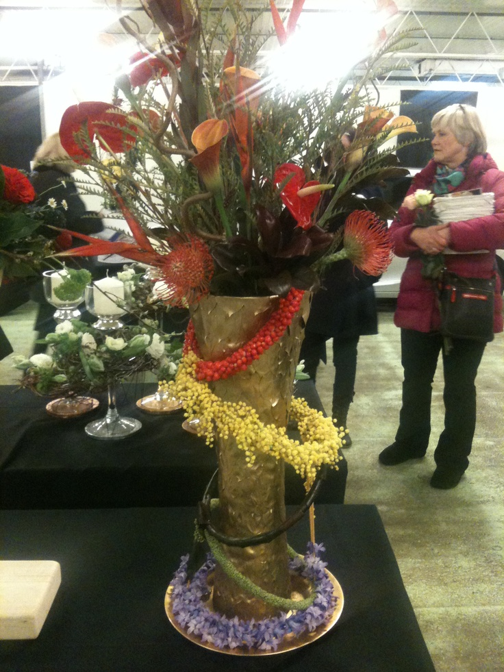 Chelsea flower competition piece