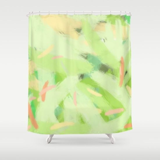 Let there be color I Shower Curtain