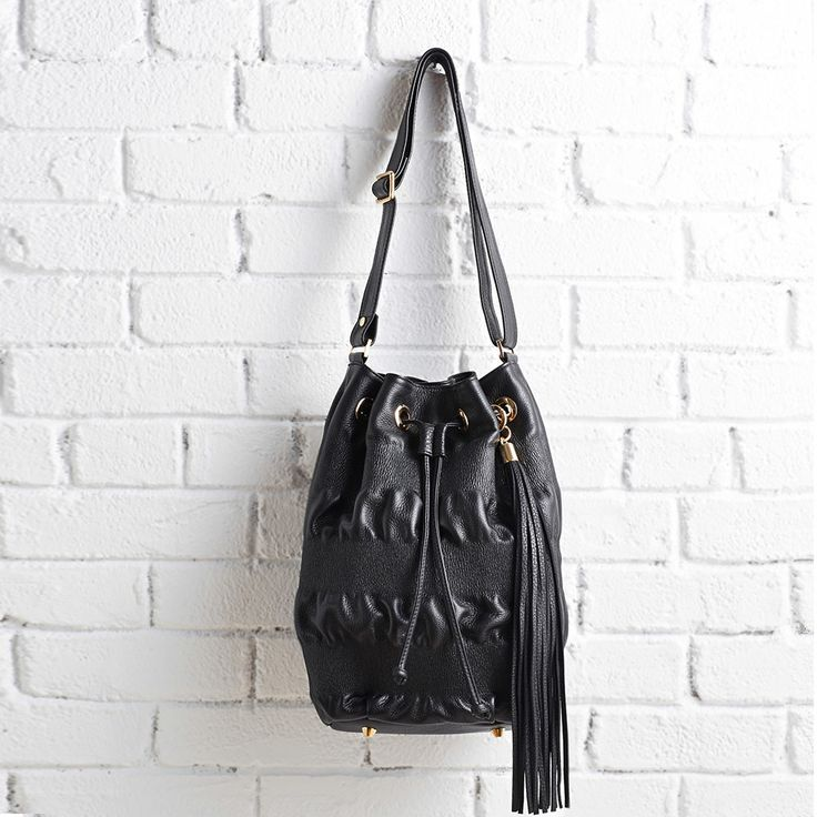 Jenny Bird Ruched Bucket Bag- Retail Price: $495 Special Offer: $300