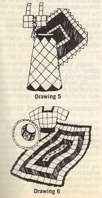 Vintage patterns - working with granny squares to make clothing fit