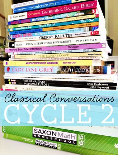 Classical Conversations Cycle 2 Plan for K and 5th graders