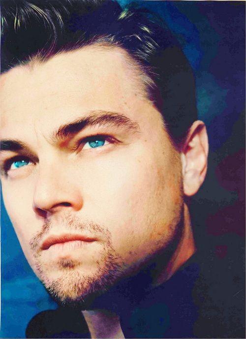Leonardo DiCaprio. Mmm I'm a sucker for blue eyes