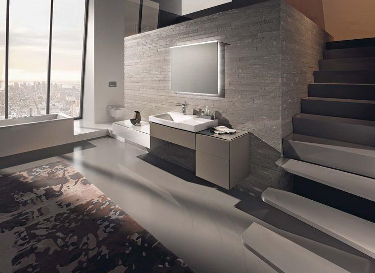 modern badkamermeubel in combinatie met de slaapkamer en het, Hause ideen