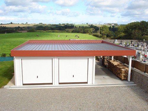 Les 25 meilleures id es de la cat gorie garage toit plat for Piscine sur toit garage