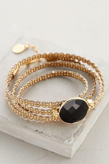 Geminiano Wrap Bracelet #anthrofave