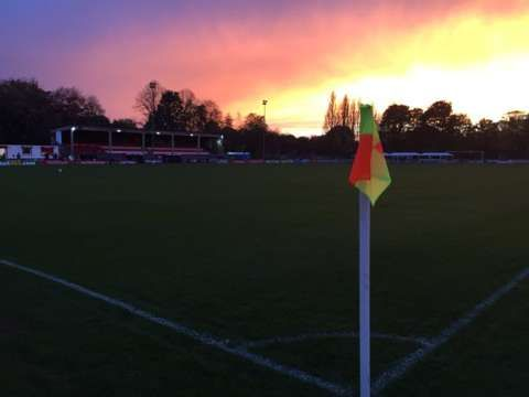 Dramatic skies over Moor Lane... Perfect #FACup setting! Join us @BBCTwo 19:30 for @SalfordCityFC v @Official_NCFC