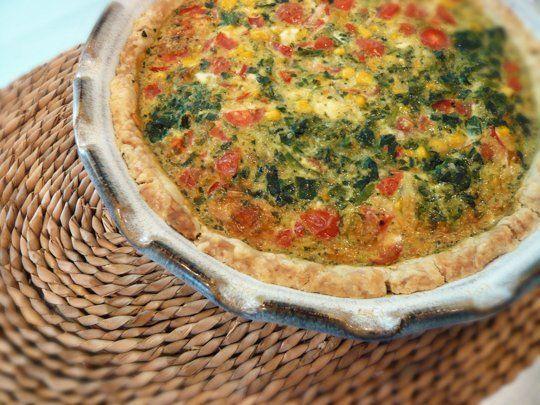 Another Ten Minute, Ten Dollar Dinner: Pat-in-the-Pan-Crust Quiche